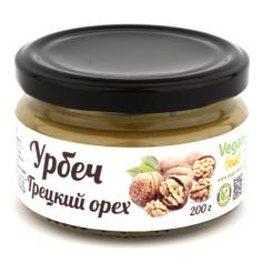 Урбеч из грецкого ореха, VEGAN FOOD 200 г