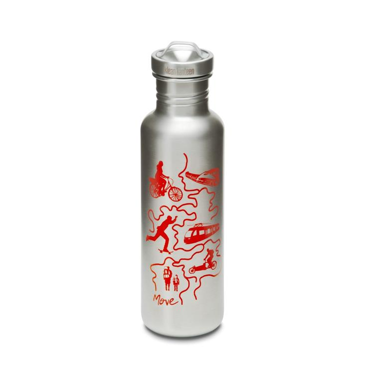Экобутылка Klean Kanteen GRAPHICS 800 мл (27 oz) - Move