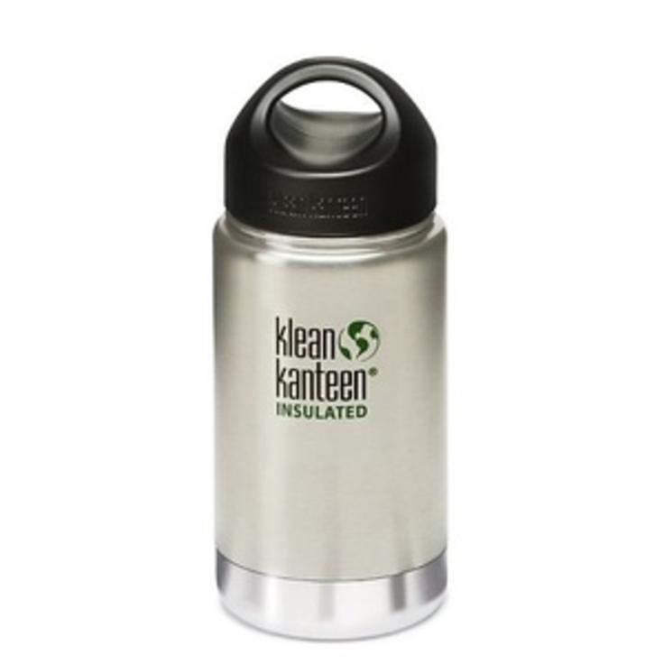 Экобутылка Klean Kanteen VACUUM INSULATED 355 мл (12 oz) - Brushed Stainless