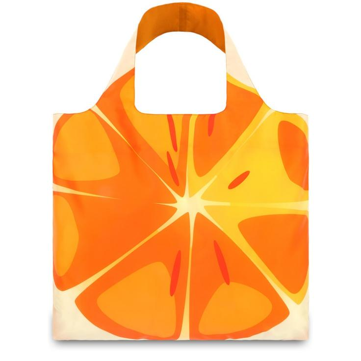 Экосумка LOQI FASHION - FRUTTI Orange