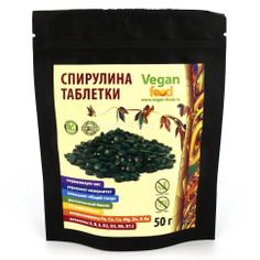 Спирулина VEGAN FOOD в таблетках 50 г