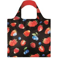 Экосумка LOQI FASHION - JUICY Strawberries