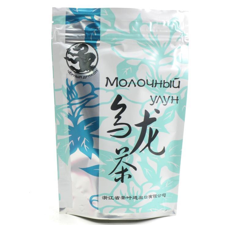 Зеленый молочный улун чай