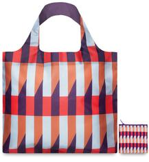 Экосумка LOQI FASHION - GEOMETRIC Stripes
