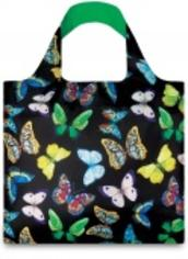 Экосумка LOQI FASHION - WILD Butterflies